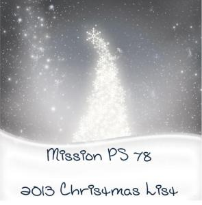 Mission PS 2013 Christmas List Photo