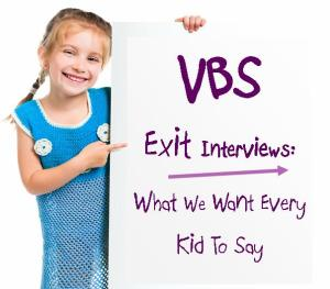 Vbs Exit Interview