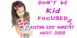 Dont be kid focus blog