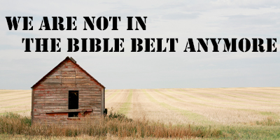 Not in the BIble Belt