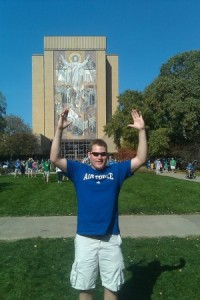 Peter At Notre Dame