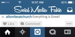 social media fakie