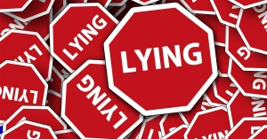 Lying blog