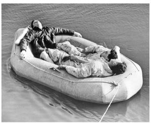men at sea