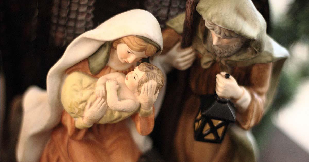 blog boxing up baby Jesus